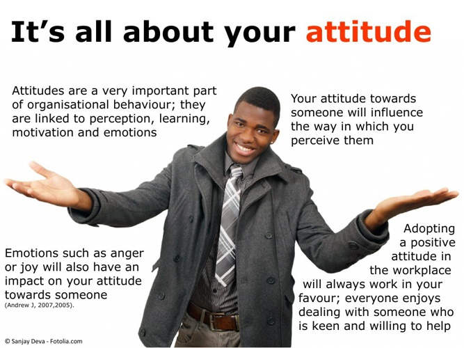 Its all about your ATTITUDE
