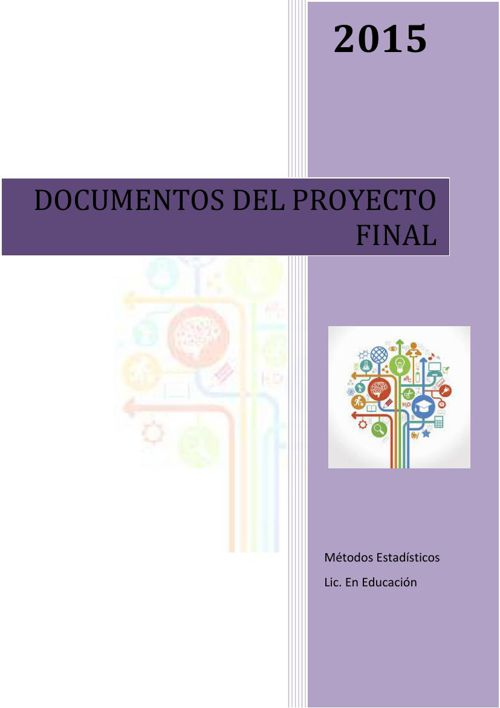 Documentos del proyecto final ME