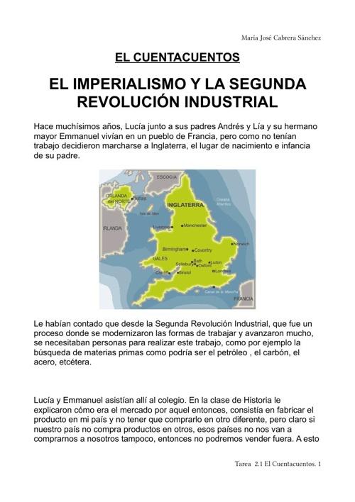 EL IMPERIALISMO Y LA SEGUNDA REVOLUCIÓN INDUSTRIAL