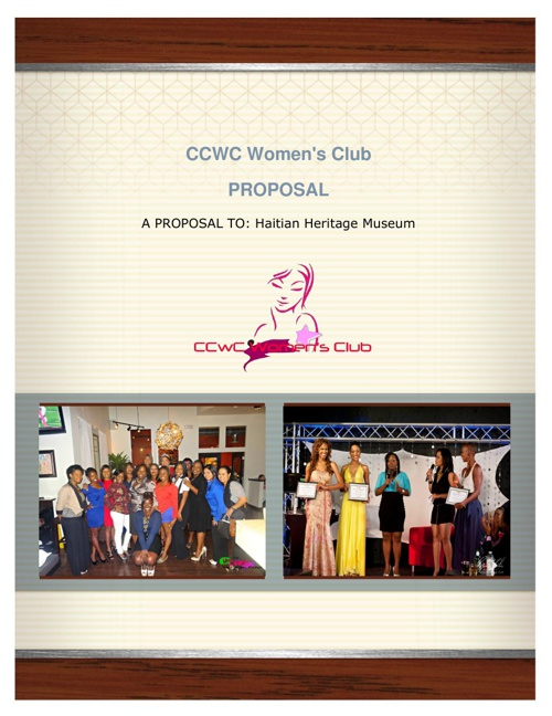 CCWC Women Proposal