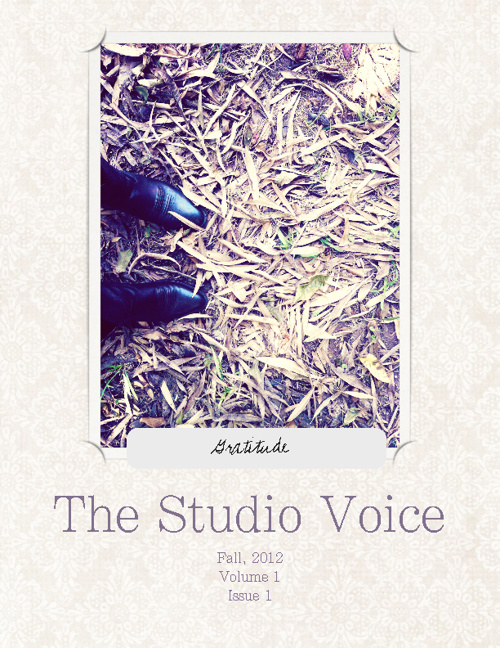 The Studio Voice, Fall 2012