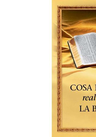 Cosa insegna realmente la Bibbia