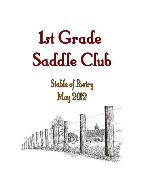 1st Grade Saddle Club Stable of Poetry