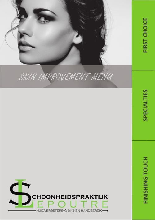 Skin Improvement Menu
