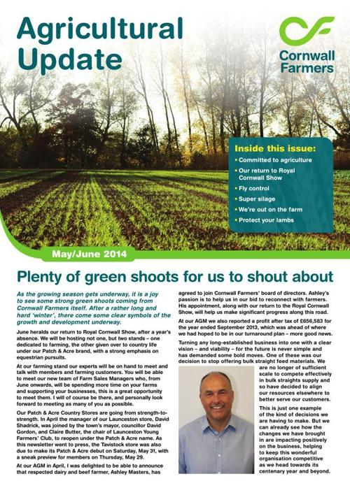 Agri Newsletter May/June_2014