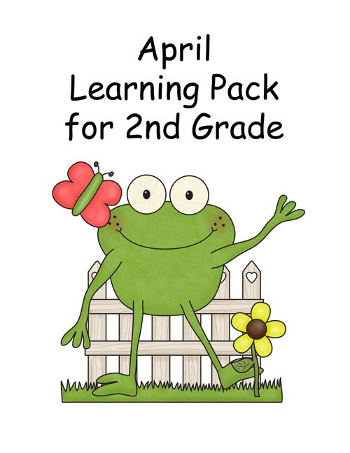 April Learning Pack for 2nd Grade
