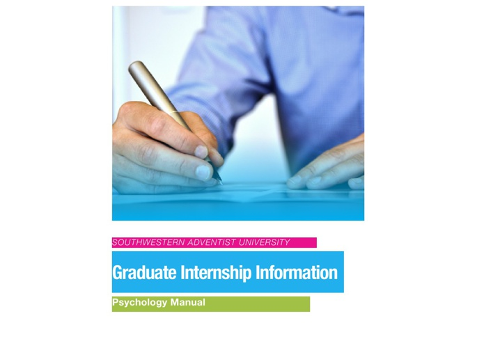 MA Internship Manual