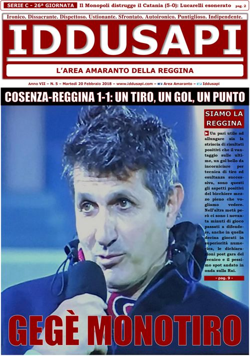 05. Cosenza-Reggina 1-1