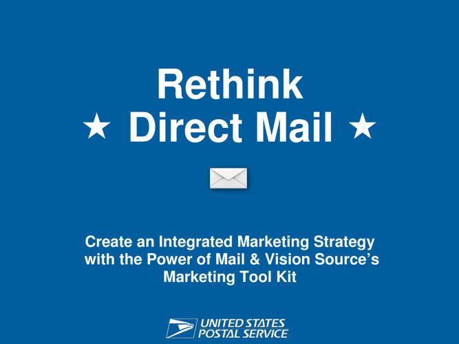 Rethink Direct Mail