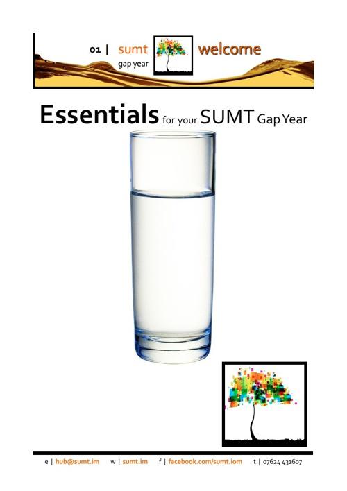 SUMT Gap Year Essentials