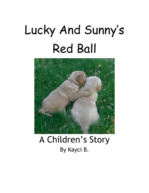 Lucky & Sunny's Red Ball