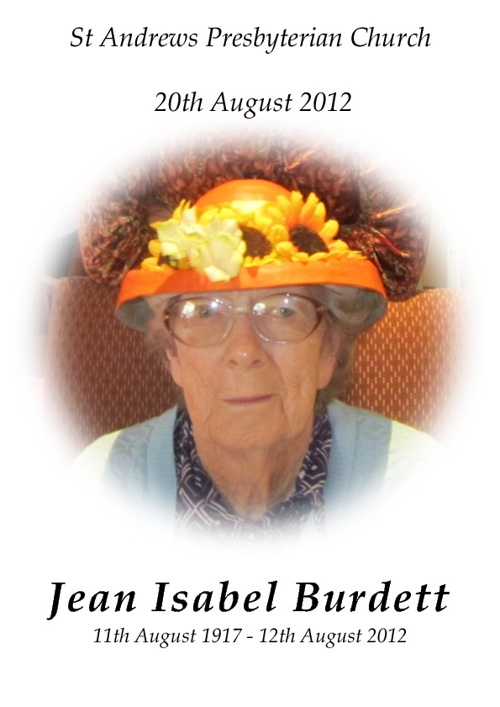 Jean Burdett