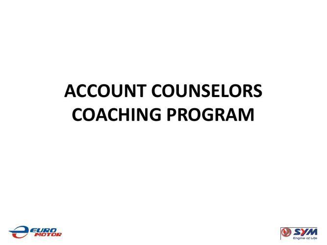 AC's Coaching Program 101