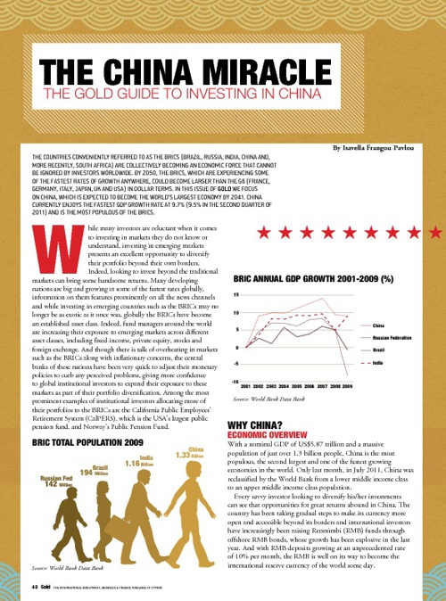 The China Miracle - The Gold Guide to Investing in China