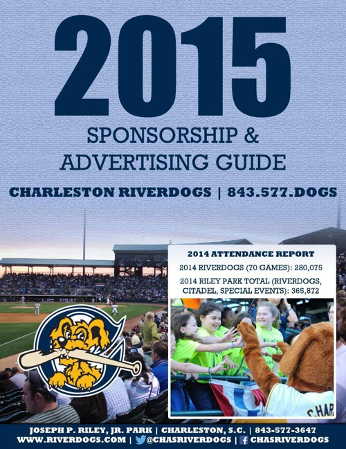 2015 RiverDogs Sponsorship Guide