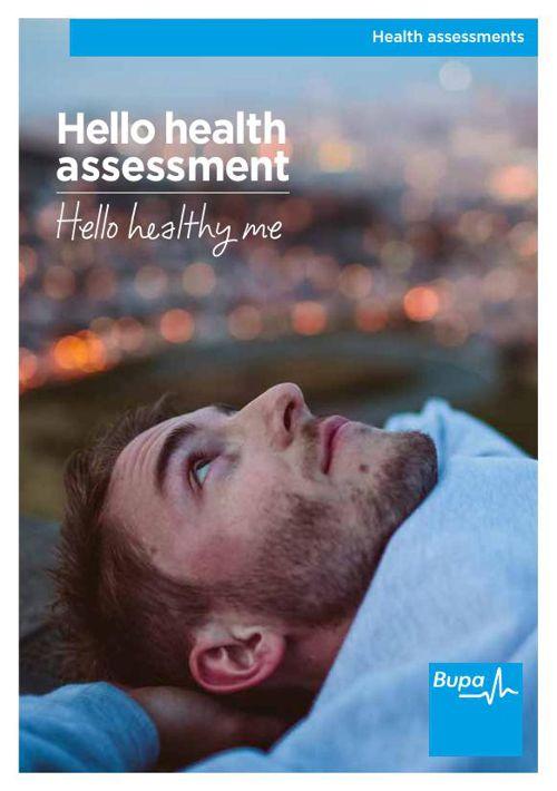 Bupa Health Assessments