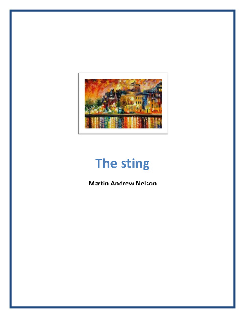 The Sting Martin Andrew Nelson