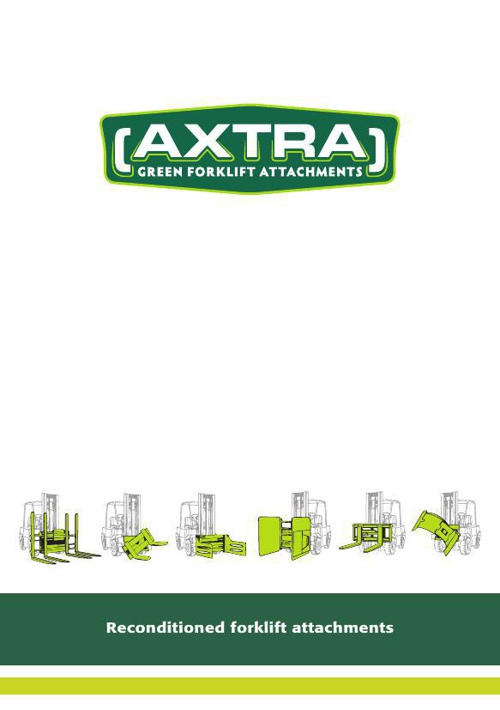 Brochure Axtra Forklift Attachments