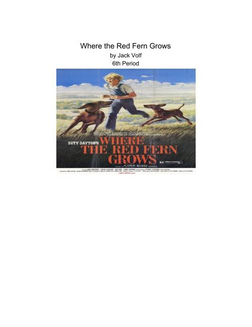 Where the Red Fern Grows_jvolf
