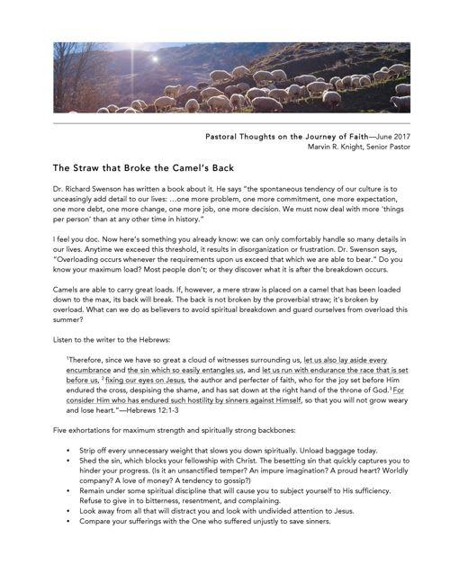 CASM Newsletter