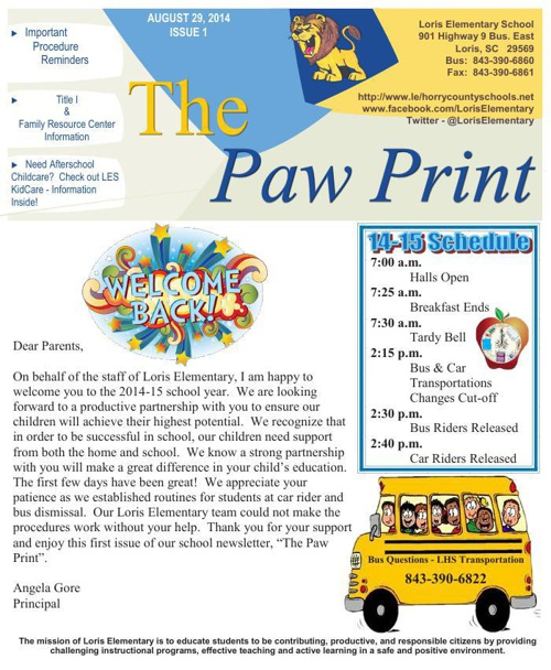 8-29-14 The Paw Print