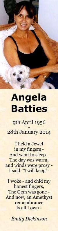 Bookmark for Angela Battie