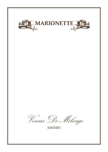 Marionette by Venus De Mileage