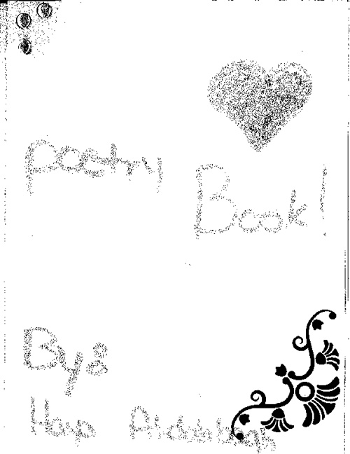 Haya's Final Poem Book