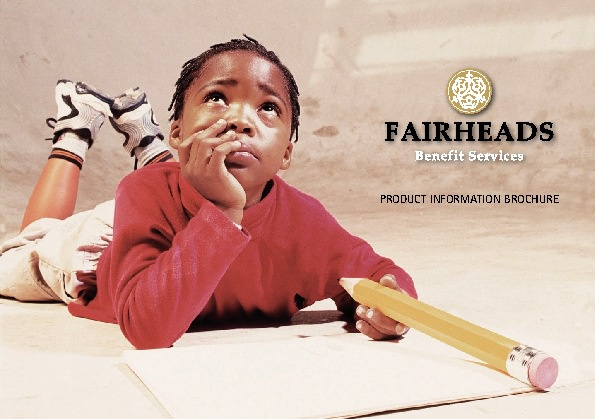 Fairheads Product Information Brochure