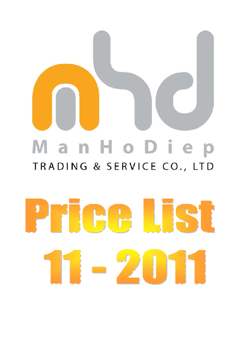 MHD Price List 11-2011