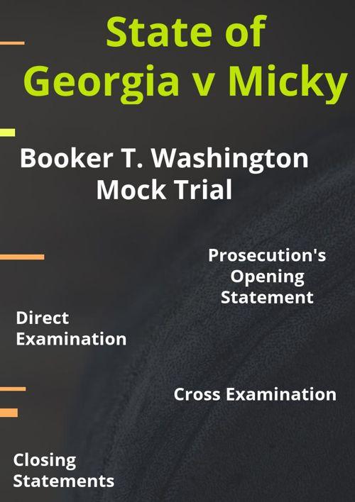 Copy of Copy of Booker T. Washington Mock Trial