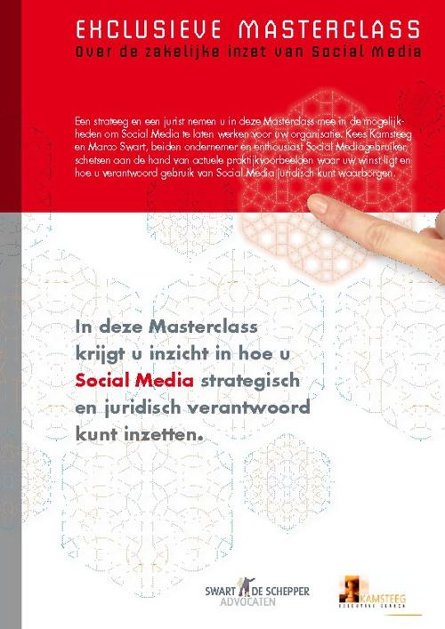 Social Media juridisch en strategisch gezien, de Masterclass 201