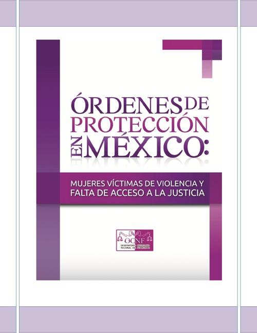 Informe - Órdenes de protección