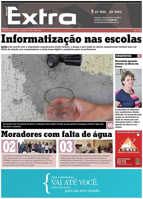 Jornal Exta 10/01/2013