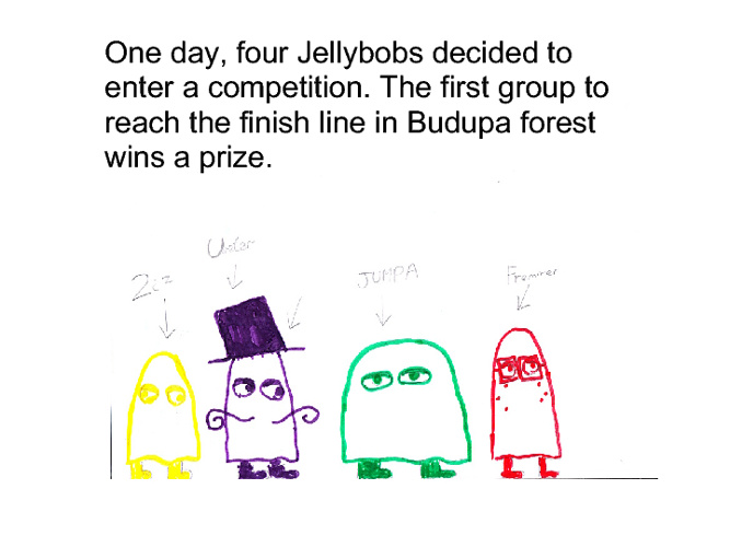 The Four Jellybobs