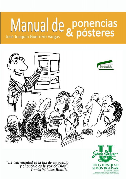 Manual de ponencias y pósteres