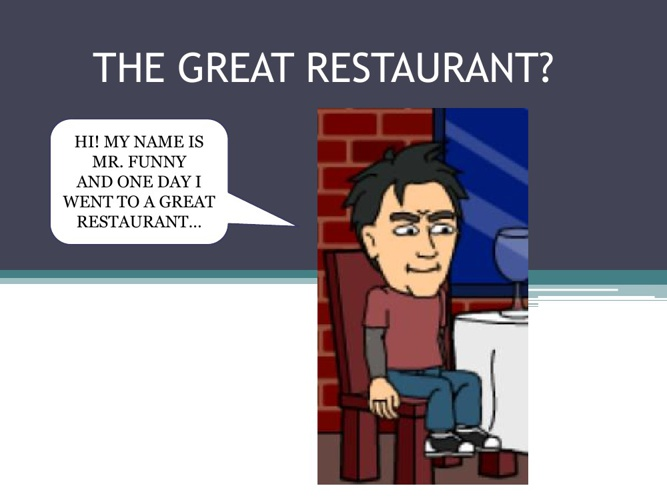 Great Restaurant?