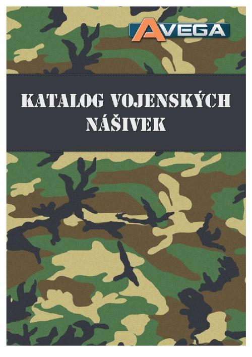 Avega - Katalog vojenských nášivek 2014