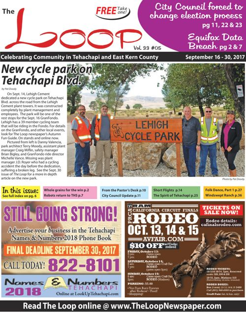 The Loop Newspaper Vol 33 No 05 - Sept 16 to 30, 2017