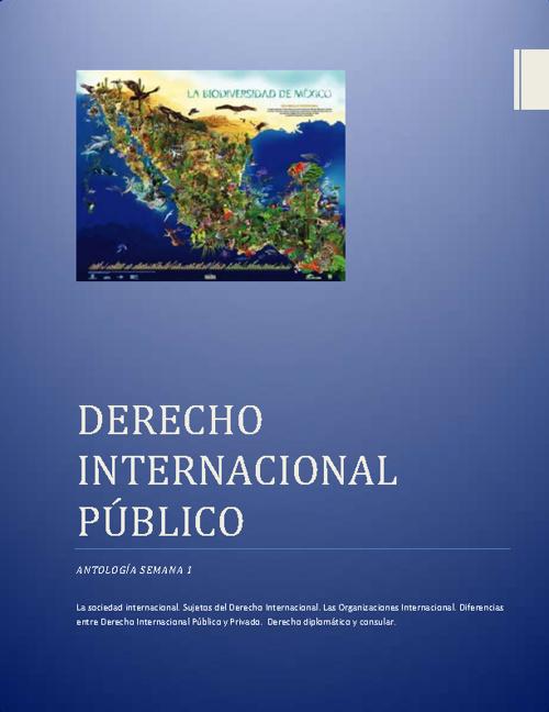 Derechop Internacional Público