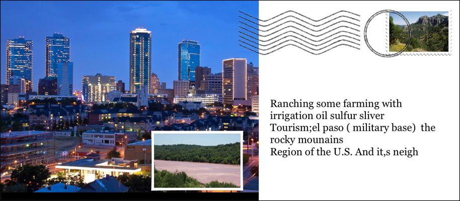 Adams: Texas Regions LifeCards App Project