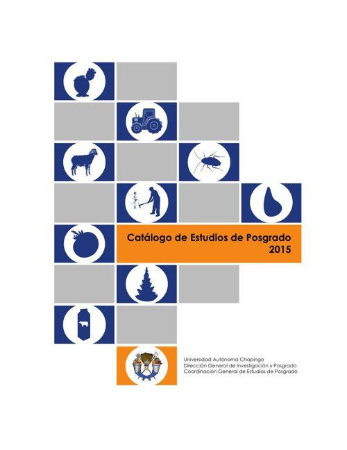 Catálogo de Estudios de Posgrado 2015