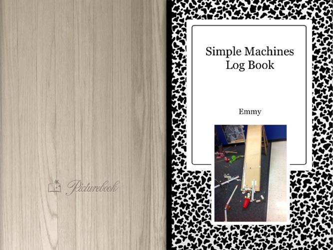 Simple Machines Log Book