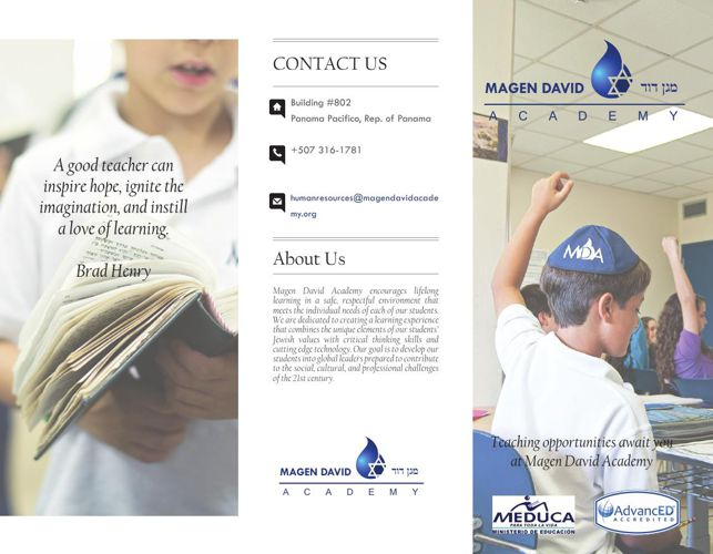 Hiring Tri-fold Brochure