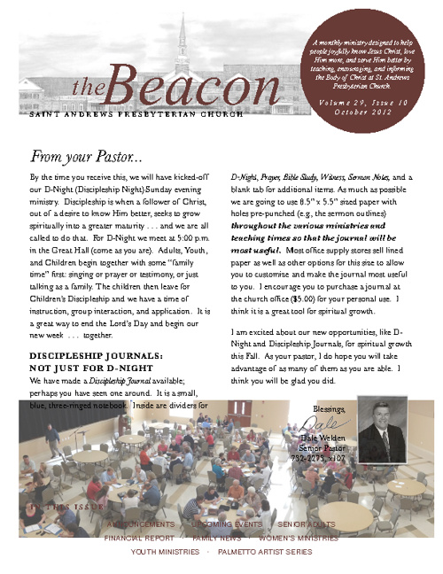 October Beacon