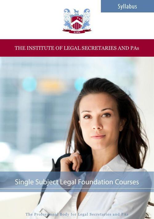 ILSPA's Single Subject Foundation Level Courses