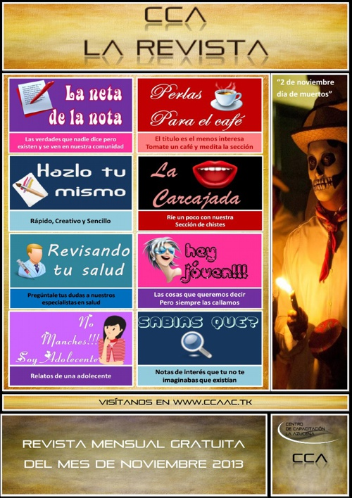 Revista CCA Edicion Noviembre 2013