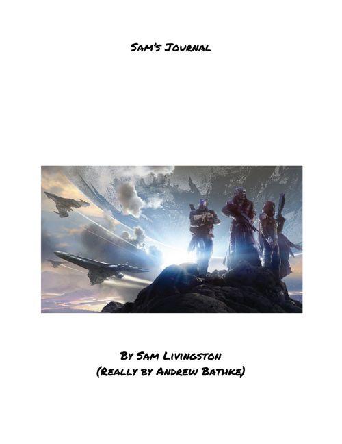 Destiny: Sam's journal