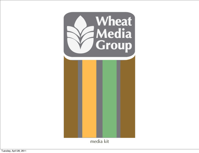 Wheat Media Group media kit April 2011