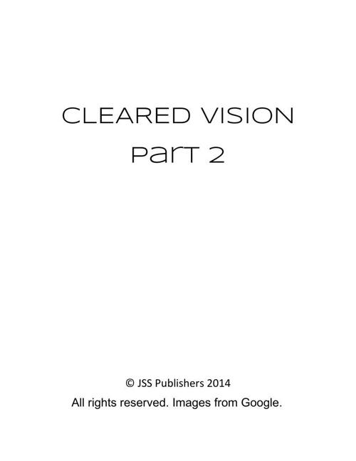 Cleared Vision Part 2 - A Nicholas Kerri Story